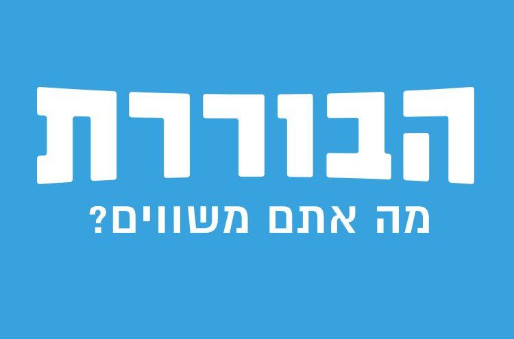 לוגו הבוררת