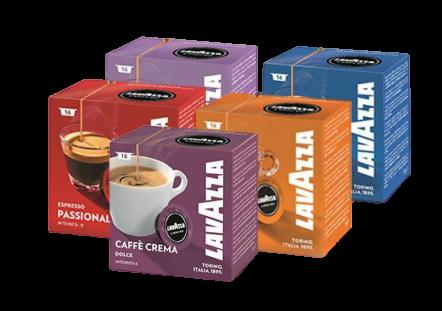 5 מארזי קפסולות קפה LAVAZZA A MODO MIO